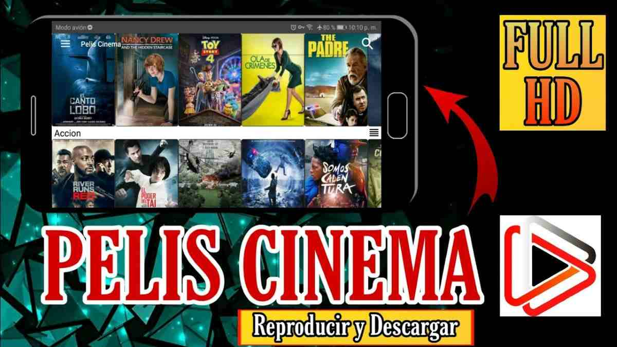 Pelis Cinema apk MOD para Android Contenido Multimedia sin limites