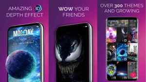 3D Parallax Background MOD para Android Wallpapers 3D 4D