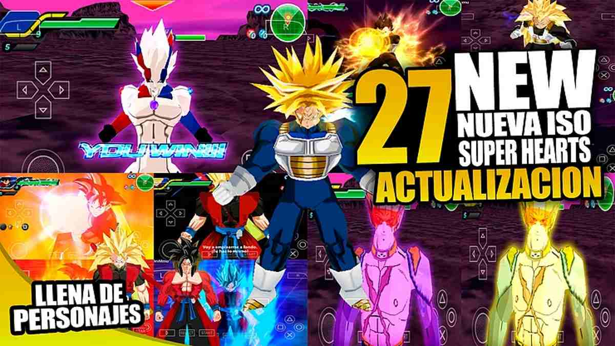 Dragon Ball Z Special Champions para Android con Menu Mod