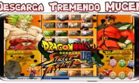 Mugen Dragon Ball Z vs Street Fighter Ultra Power para Android y PC