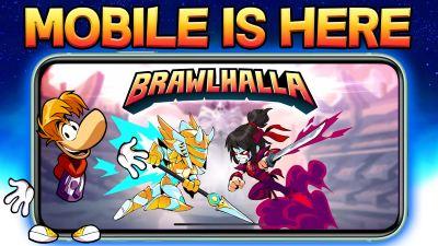 Brawlhalla Mobile para Android 2020 juego de peleas Smash con Rayman