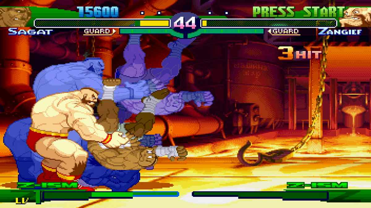 Street Fighter Alpha 3 MUGEN para Android y PC