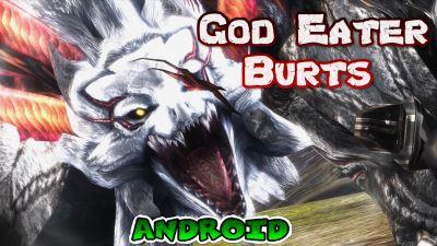 God Eater Burts Juego anime para Android Excelentes gráficos de consola