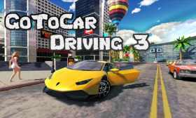 Go To Car Driving 3 para Android Genial juego Similar a GTA