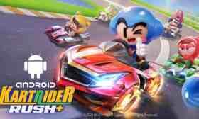 KartRider Rush Plus Android Mira El mas increíble juego de Carreras móvil