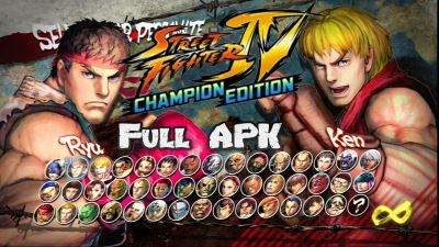 Street Fighter IV Champion Edition Mod para Android