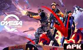 Omega Legends apk Android Similar a Fortnite