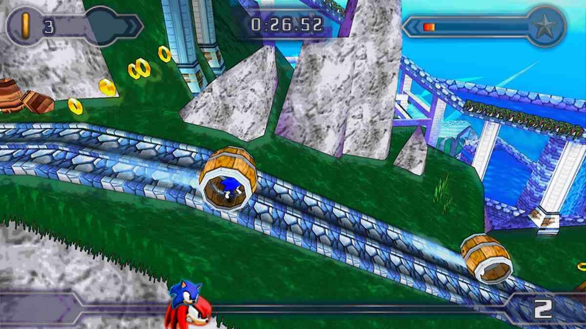 Sonic Rivals 2 Juego de PSP también disponible para Android