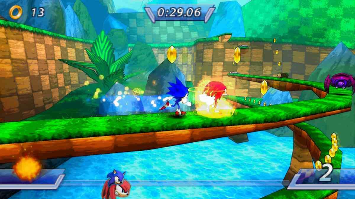 Sonic Rivals El mejor videojuego que puedes tener en tu psp