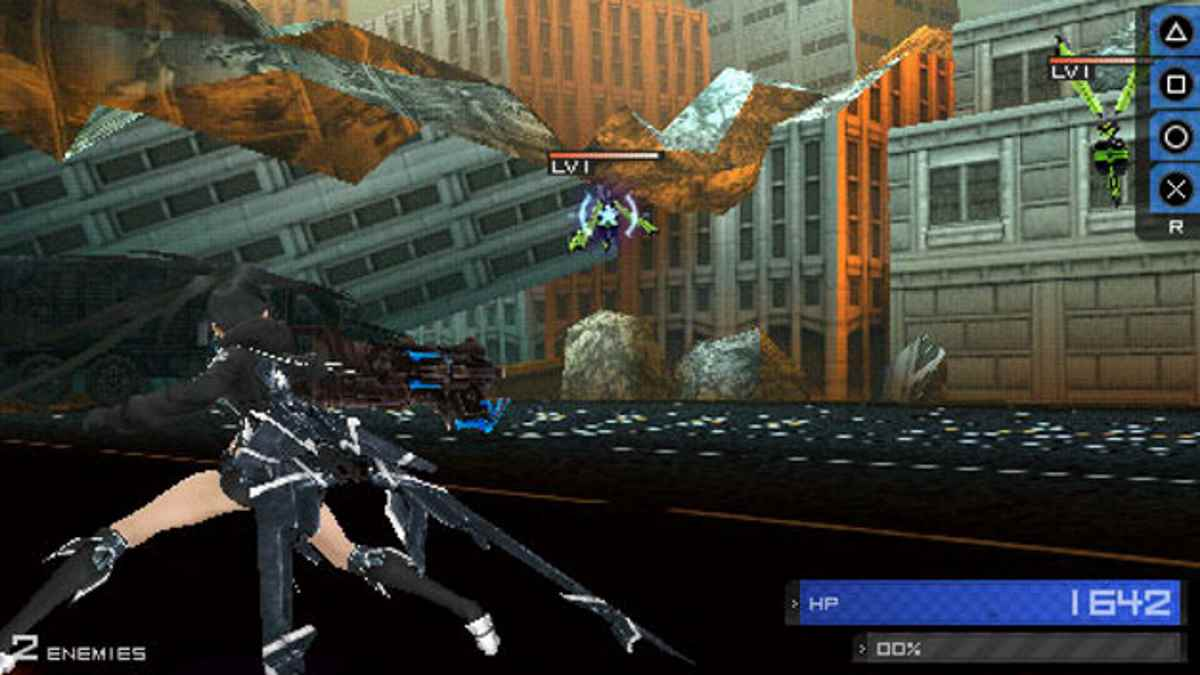 Black Rock Shooter The Game PSP