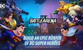DC Battle Arena APK para Android Super juego PVP con Heroes de DC Comics