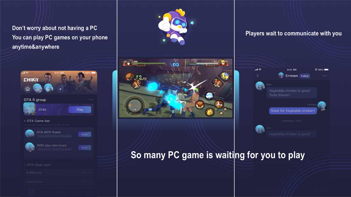 Chikii Cloud Gaming APK para Android