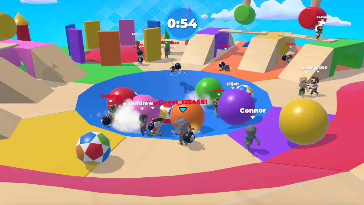 Fall Dudes 3D Apk para Android Increible copia de Fall Guys