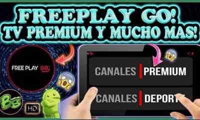 Free Play Go Tv para Android Es la mejor app de entretenimiento digital