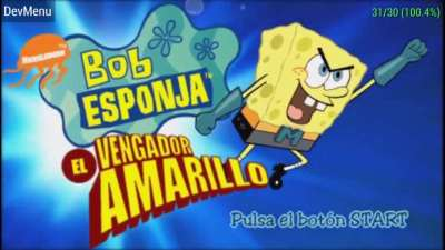 Bob Esponja el Vengador Amarillo juega las mas grande aventura