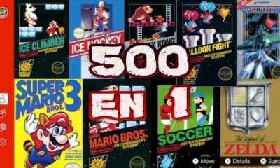 Super Consola Retro APK Android con 500 juegos en 1 sin Emulador