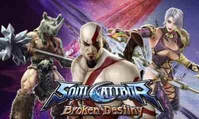 Soul Calibur Broken Destiny con Kratos El mejor juego de peleas móvil