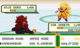 Dragon Ball Z Legend of Kakarot Juego Mod de GBA para Smartphones
