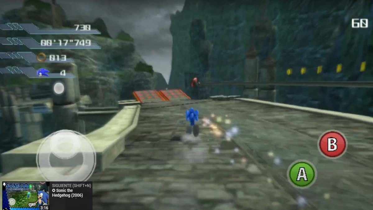 Sonic The Hedgehog 2006 Port de Xbox 360