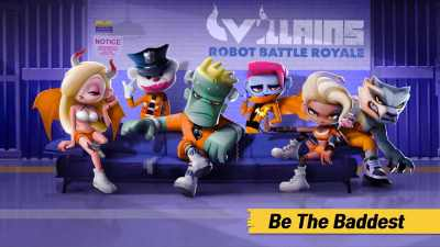 Villains Robot Battle Royale apk para Android Batallas con adrenalina