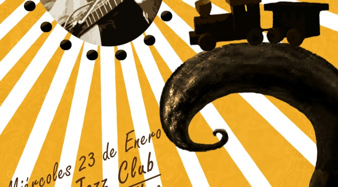 Zinco Jazz Club (Mexico City, DF) — poster by Indie Rocks!