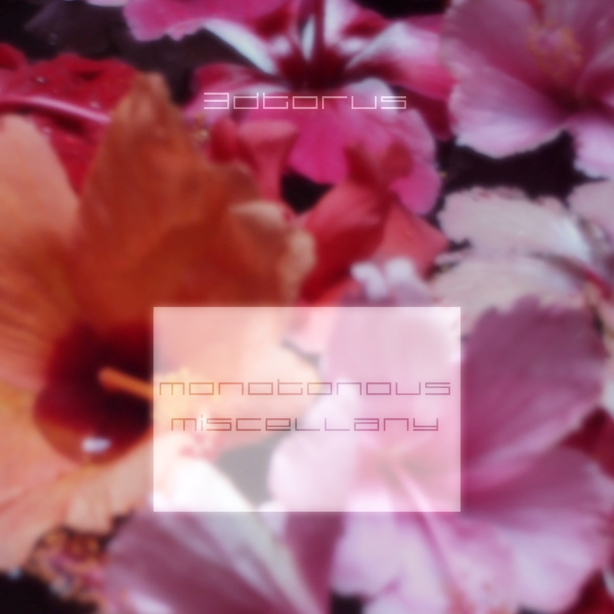 Review of Monotonous Miscellany EP by 3dTorus on mobiusspin (mbsspn018)