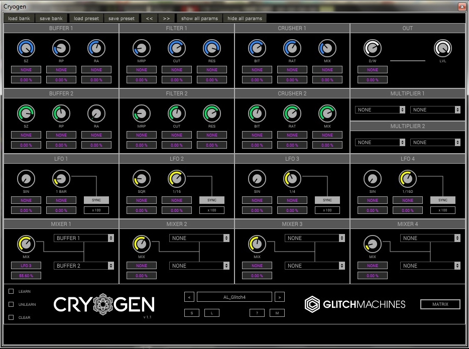 Review of Cryogen VST by Glitchmachines