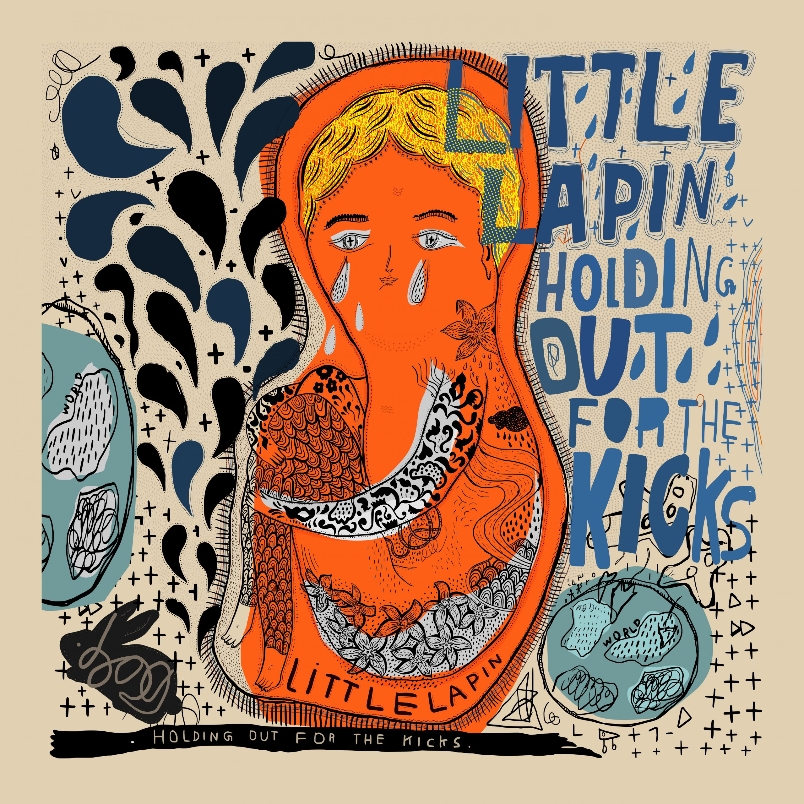 Review of 'Holding Out For The Kicks' album by Little Lapin (releases 16th July 2016)