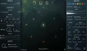 Review of Dust sample based granuliser synthesiser and effect VST by Soundmorph