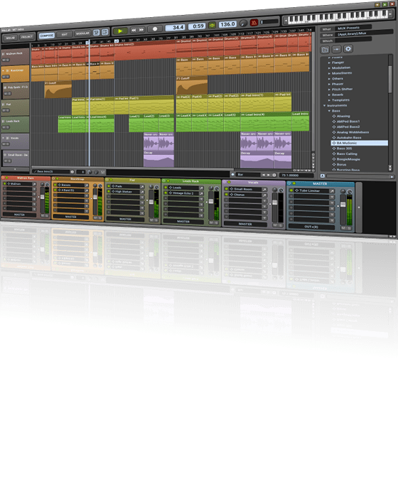 Review of MuLab 7.2 DAW by MuTools