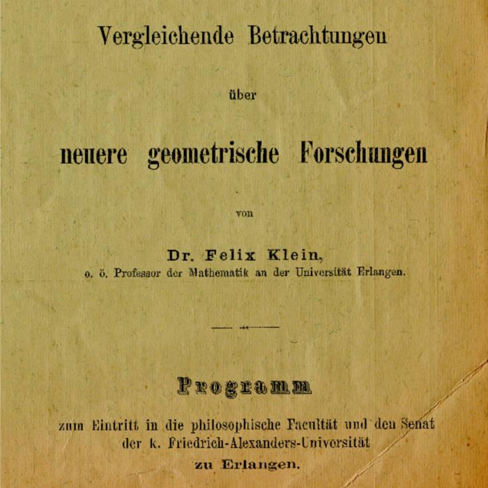 Review of Erlanger Programme album by Rainer Straschill