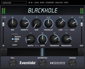 Review of Blackhole reverb effect (VST/AU/AAX) by Eventide