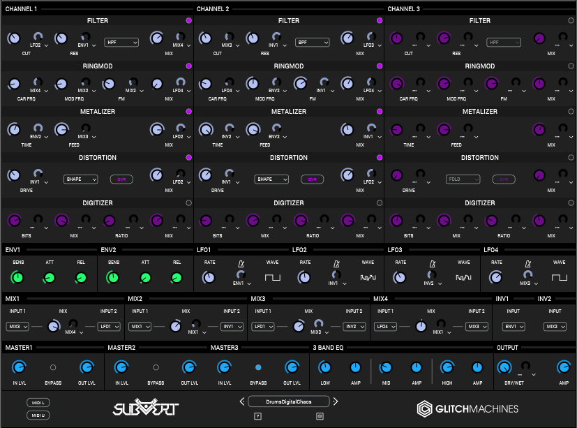 Review of Subvert multi-effects processor (VST/AU) by Glitchmachines