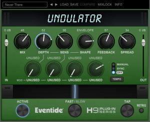 Review of Undulator modulated tremelo effect (VST/AU/AAX/iOS) by Eventide