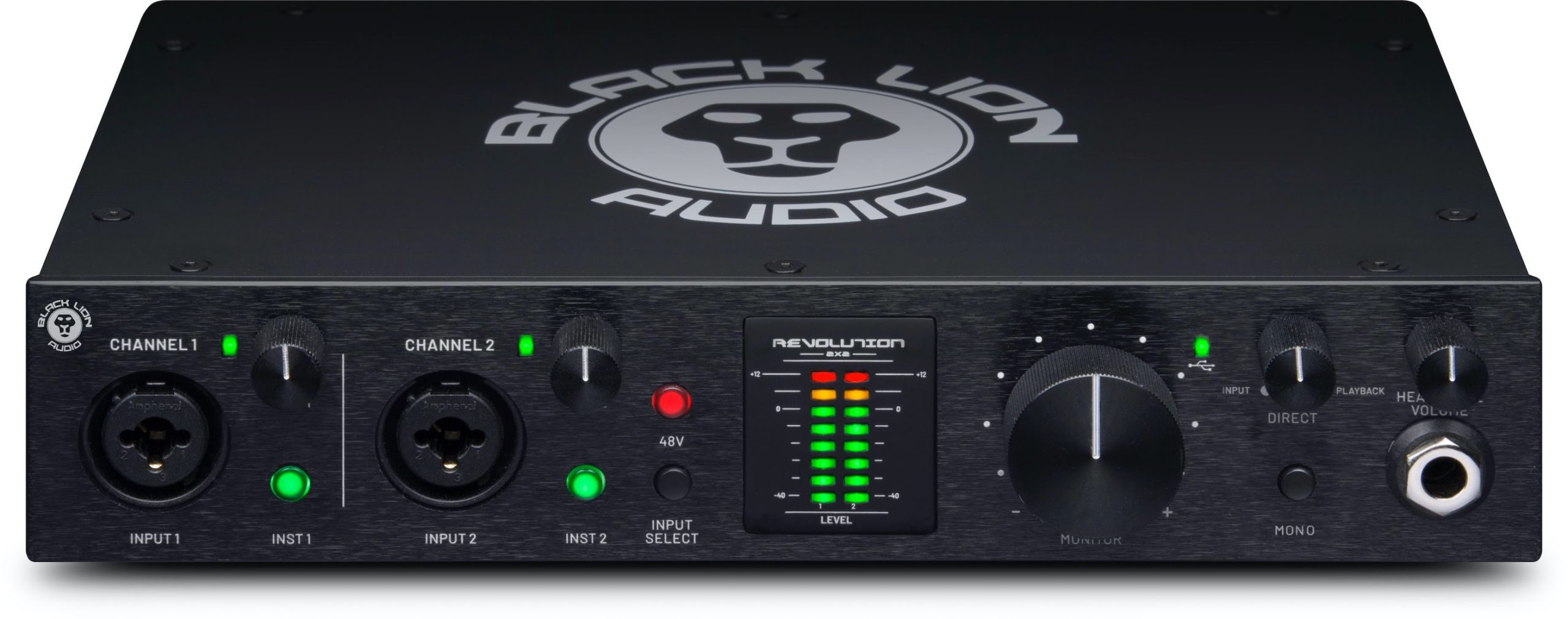 Black Lion Audio revolutionises bus-powered, portable audio interface market with first studio-grade desktop model of its own making