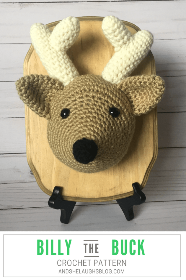 Billy the Buck - Free Crochet Pattern - And She Laughs Crochet