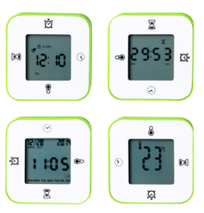 LOTTORP clock timer thermometer