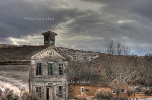 Andy Bell - The Schoolhouse - Single-Shot HDR - Bannack State Park