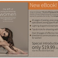 "My brand new eBook is out: ""The Art of Posing and Directing Women"""