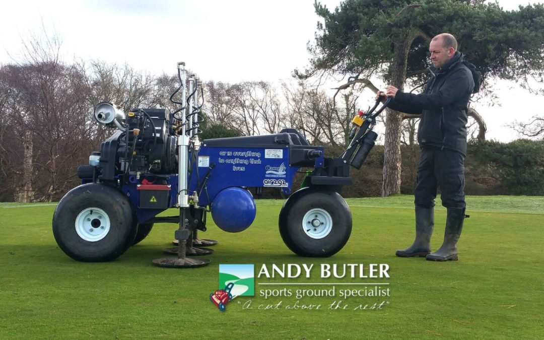 Taken delivery of AIR 2G2 GT Air Inject Aeration for Sports Ground Maintenance