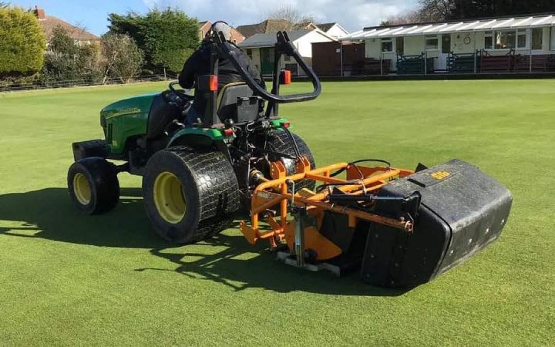 Sisis Rotorake TM 1000 new to grounds maintenance equipment