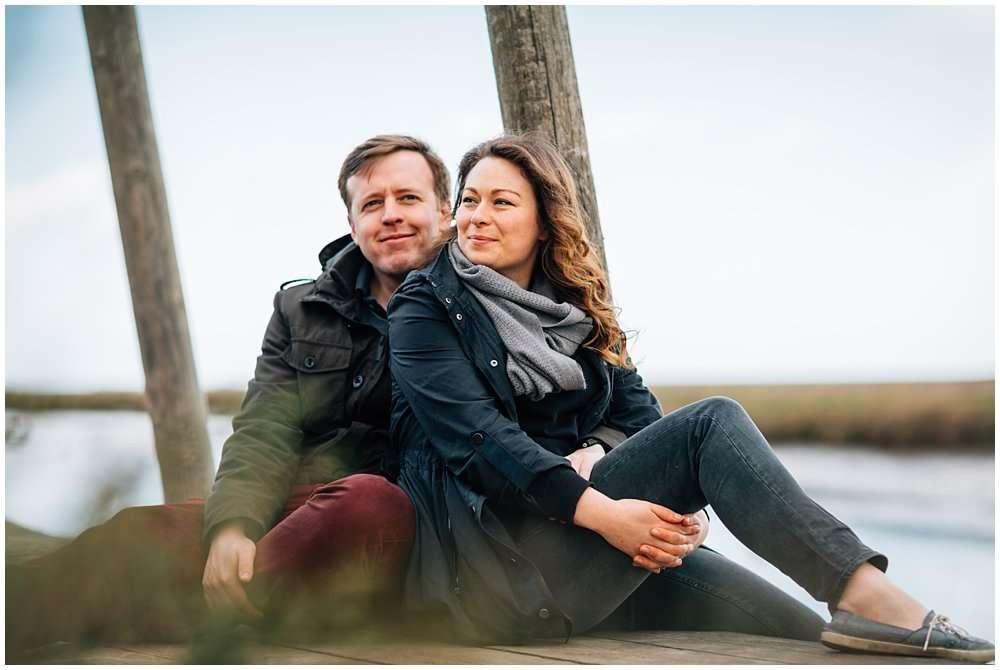 GABBIE AND JOSH ENGAGEMENT SHOOT AT CLEY AND BLAKENEY - NORFOLK WEDDING PHOTOGRAPHER