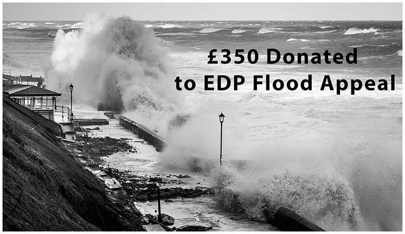 EDP FLOOD APPEAL CHARITY PRINT DONATION