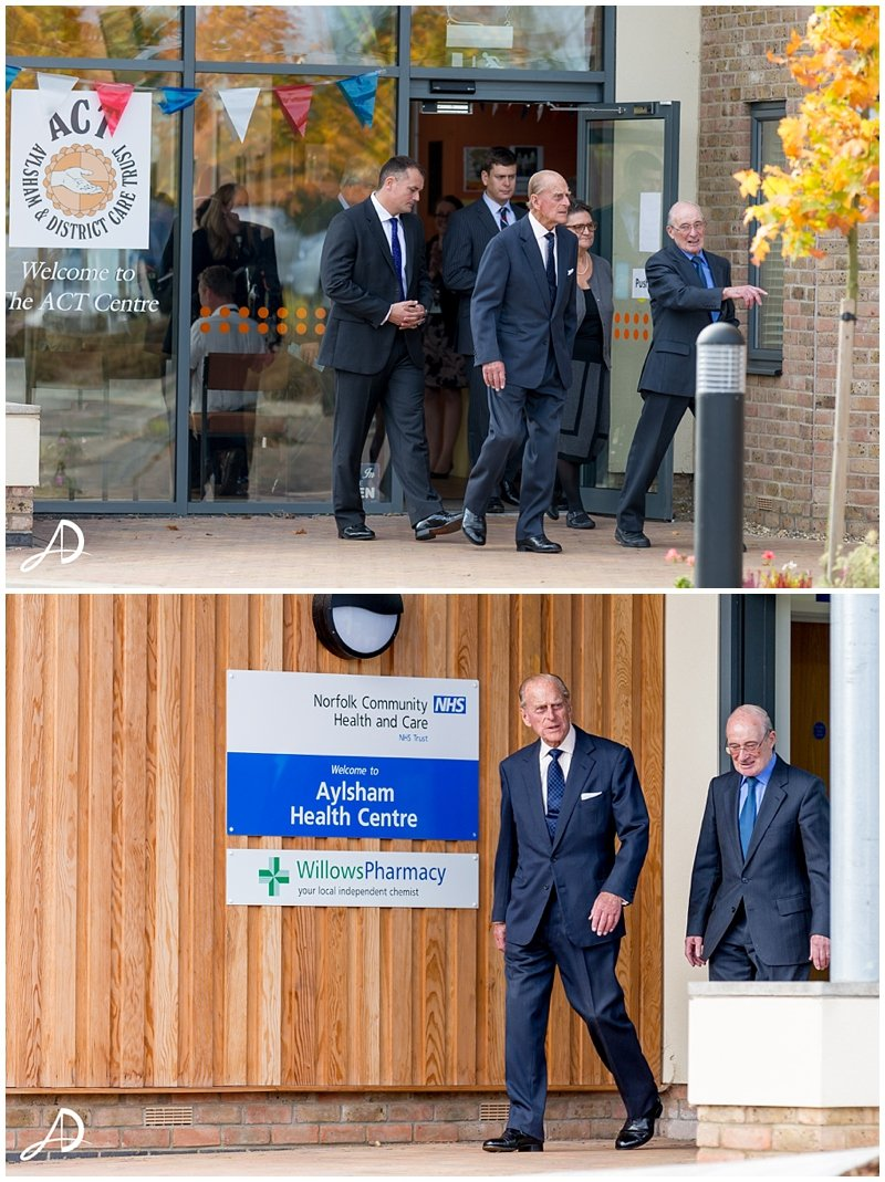 Prince Philip Visits Aylsham - Norfolk Event Photographer