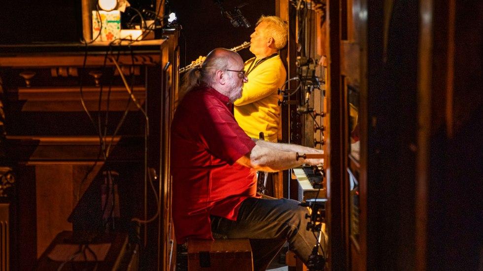 """Andy Emler """"Organ Projects"""", duos orgue et voix/orgue et saxophones, clarinettes"""