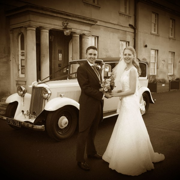 Wedding photographs including black and white, special finishes and individual colour retouching by Andy Huntley at ah! Surrey, Sussex and London