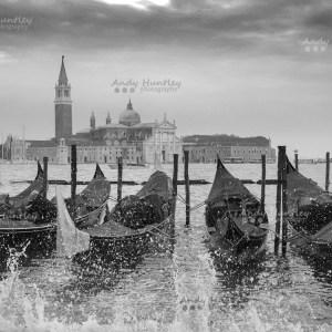Venice Gondolas on the Waterfront