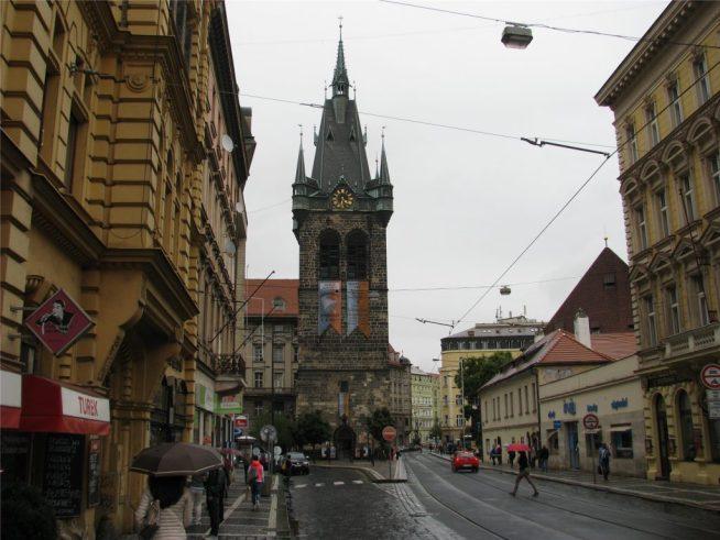 Индрижская башня в Праге