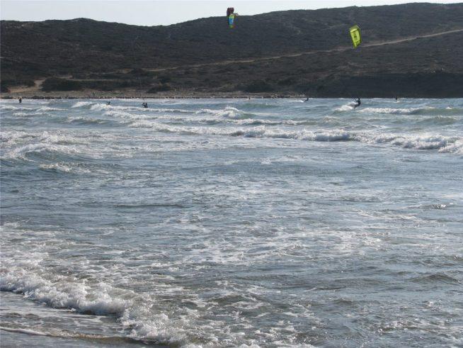 Неспокойное Эгейское море