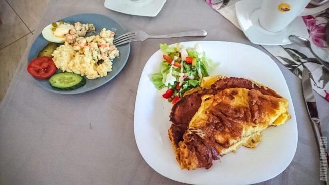 Завтрак в гостевом доме в Закопане